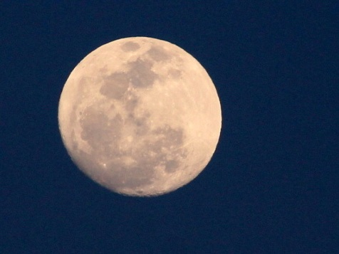 same moon, cropped up close.